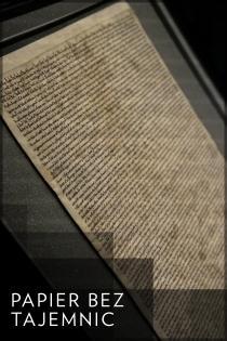 Papier bez tajemnic